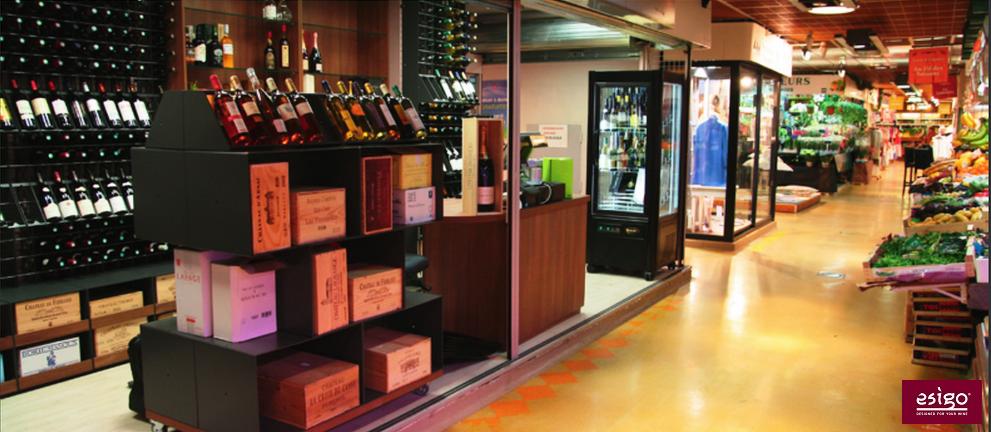 Arredamento per gestione vino - design moderno (Parigi)