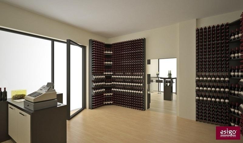 Gallery arredamento esigo per enoteca for Arredamento enoteca wine bar