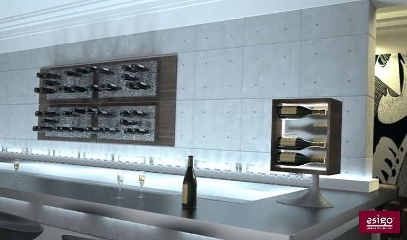 Gallery: Arredamento Esigo per wine bar