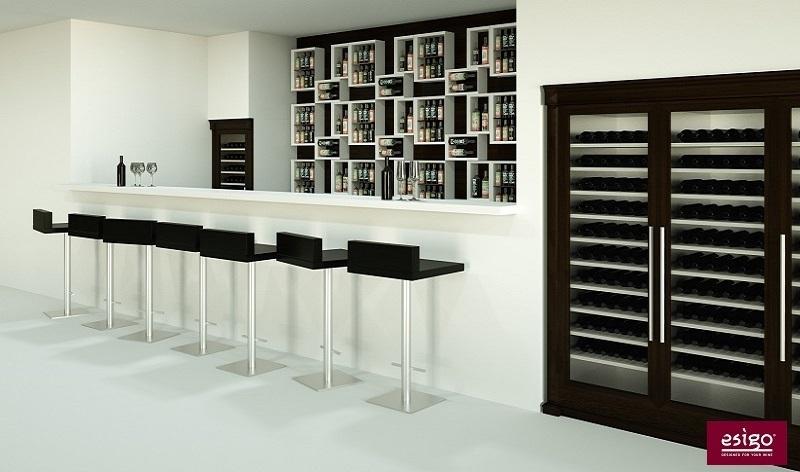 Gallery arredamento esigo per wine bar - Mobili per cantine ...