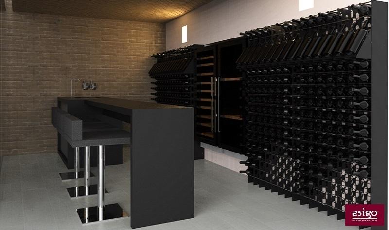 Gallery arredamento esigo per cantina for Arredamento in acciaio