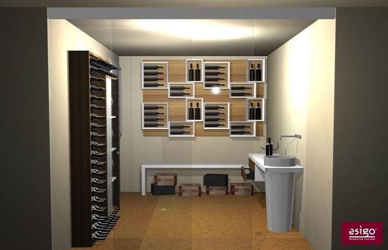 Gallery arredamento esigo per cantina - Weinkeller einrichten ...