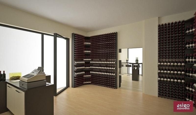 Portabottiglie vino acciaio pompa depressione - Ingrosso bevande piano tavola ...