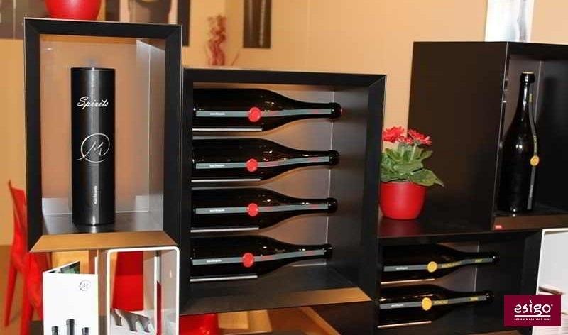 Gallery mobile vino esigo 5 floor for Mobile porta bottiglie