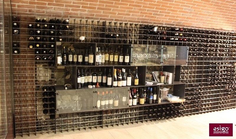 Gallery portabottiglie esigo 2 box - Mobile porta vino ...