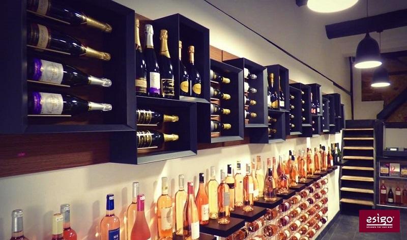 Gallery portabottiglie esigo 5 - Portabottiglie di vino in legno ...