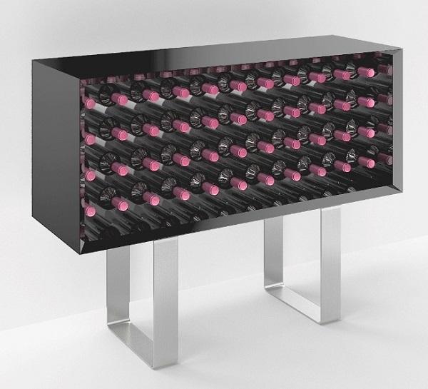mobile vino in legno esigo 9 il mobile vino in