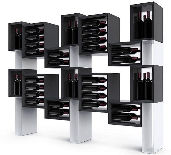 Mobile vino di design Esigo 5 Floor