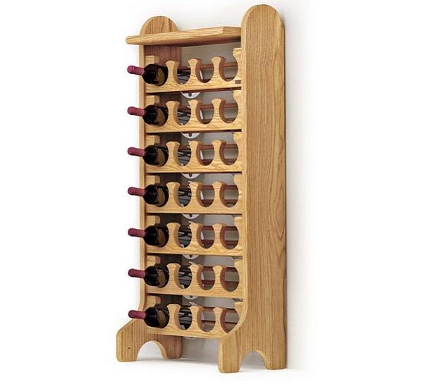 Porta bottiglie vino in legno Esigo